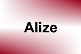 Alize name image