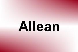 Allean name image
