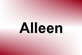 Alleen name image