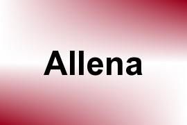 Allena name image