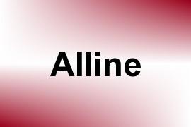 Alline name image
