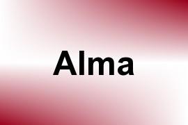 Alma name image