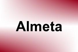 Almeta name image