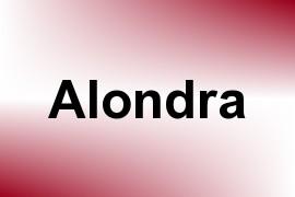 Alondra name image