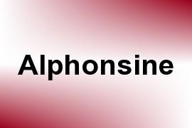 Alphonsine name image