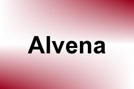 Alvena name image