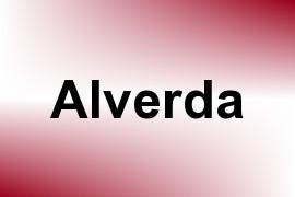 Alverda name image