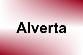 Alverta name image