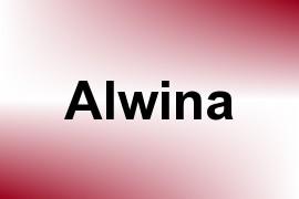 Alwina name image