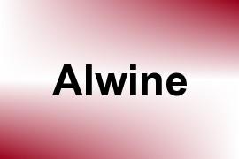 Alwine name image