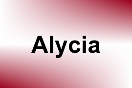 Alycia name image