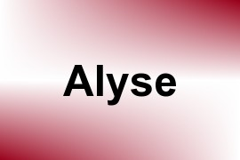 Alyse name image