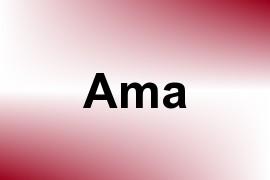 Ama name image