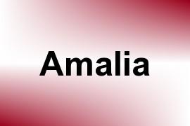 Amalia name image