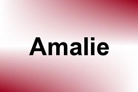 Amalie name image