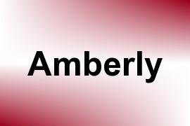 Amberly name image