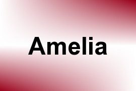 Amelia name image