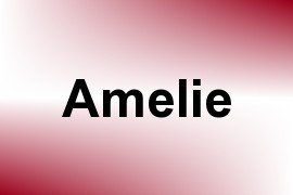 Amelie name image