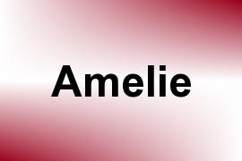 Amelie name image