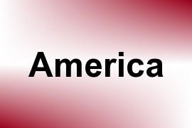America name image