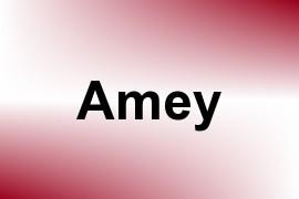 Amey name image