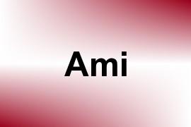 Ami name image
