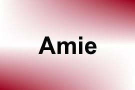 Amie name image