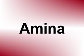 Amina name image