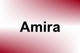 Amira name image