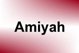 Amiyah name image