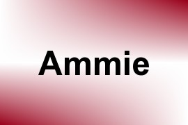 Ammie name image