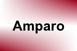 Amparo name image