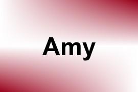 Amy name image