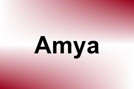 Amya name image