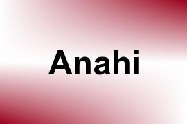 Anahi name image