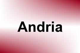 Andria name image