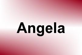 Angela name image