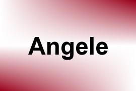 Angele name image