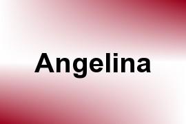 Angelina name image