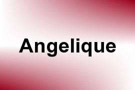 Angelique name image