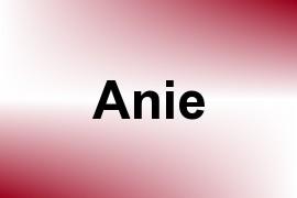 Anie name image
