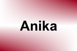 Anika name image