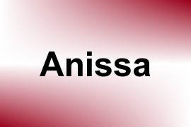 Anissa name image