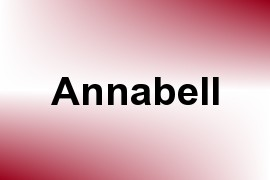 Annabell name image