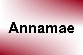 Annamae name image