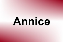 Annice name image