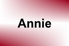 Annie name image