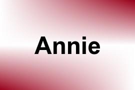 Annie name image