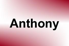 Anthony name image
