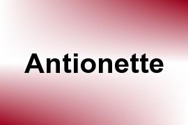Antionette name image